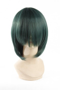 Icoser 30cm Anime Cosplay Wigs Party Short Synthetic Hair for Hairpiece