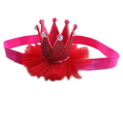 Creazy® Head Accessories Hairband Baby Elastic Flower Crown Headwear
