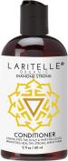 Laritelle Organic Travel Size Conditioner 60ml | Hair Loss Prevention, Anti-Breakage, Split Ends Treatment | Rosemary, Ginger & Cedarwood | NO GMO, Sulphates, Alcohol, Parabens, Phthalates | GF