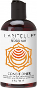 Laritelle Organic Travel Size Conditioner 60ml | Hair Loss Prevention, Anti-Breakage, Split Ends Treatment | Argan Oil, Rosemary & Palmarosa | NO GMO, Sulphates, Alcohol, Parabens, Phthalates | GF