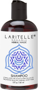 Laritelle Organic Travel Size Shampoo 60ml | Hair Loss Prevention, Clarifying & Strengthening | Rosemary & Saw Palmetto | NO GMO, Sulphates, Alcohol, Parabens, Phthalates | Unscented. Hypoallergenic GF