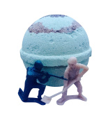 CAMO BOMB for Boys! Large Bath Bomb (240ml) with a Toy inside!