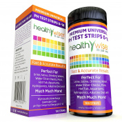 HealthyWiser Universal pH Strips + Digital pH Metre Combo
