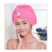 Andux Land Hair Drying Cap for Long Hair GFJ-01