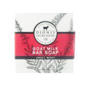 Dionis Goat Milk Skincare - Bar Soap, 80ml, Sweet Berry