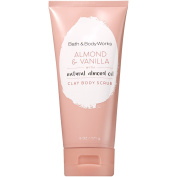 Bath and Body Works Signature Collection Clay Body Scrub with Natural Essential Oils