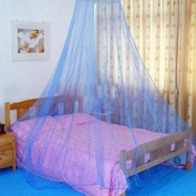 Gemini_mall® Blue Lace Bed Canopy Mosquito Net Dome Fly Insect Net Protection