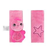 INCHANT Kids Infant Cartoon Soft Safety Belt Cover Seat Strap Cover Shoulder Pad