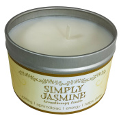 Our Own Candle Company Soy Wax Aromatherapy Scented Candle, Simply Jasmine, 190ml