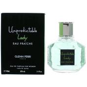 Glenn Perri Unpredictable Lady Eau Fraiche Eau De Parfum Spray for Women, 100ml