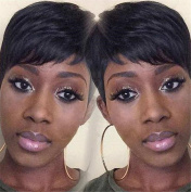 ATOZWIG Female Wig Short Straight Black Wigs for Black Women Short Black Wig Heat Resistant New Arrival
