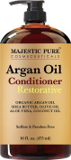 Moroccan Argan Oil Hair Conditioner From Majestic Pure, 470ml - Pure and Natural for All Hair Types, Sulphates Free, Parabens Free