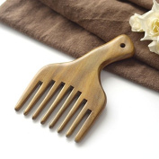 EQLEF® message Comb Wooden Comb Hair Pick Wide Tooth Sandalwood Hair Comb