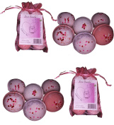 "Wholesale 12 Bath Bombs Double Gift Set, Love & Hearts - Handmade with Shea Butter and Organic Sustainable Palm Oil, ""See, Smell and See The Difference"""