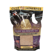 Redmond Bath Salt Plus, Ancient Sea Mineral Salt From an Ancient Dead Sea in Utah, 2.3kg. Bulk Bag
