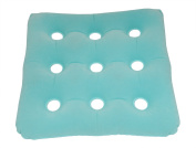 ObboMed HB-1502 Foldable Portable Inflatable Pressure Relieving Waffle Bath SPA Air Cushion with Velour Surface for Bath Tube, Inflated Dimension 15 x 40cm x 7.6cm