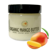 Pure Organic Mango Butter-2 Sizes Available 470ml & 60ml-Food Grade & Cosmetic Grade, Organic, Pure, Clean, Naked, (60ml