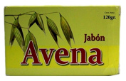 Jabon De Avena / Oat Soap Cont. Net. 120g Has a Cleansing Effect on the Skin, Leaving It Soft, Supple and Nourished. Helps Soothe Skin Irritations and Aid in the Treatment of Acne,rejuvenating Facial,stress,general Skin Problems Centro Botanico Azteca