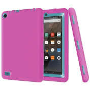 For Kindle Fire 7, AMA(TM)Kid Rugged Shockproof Protective Cover Case for Amazon Kindle Fire 7 2015 Tablet