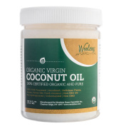 Woolzies Pure Organic Virgin Unrefined Coconut oil, food grade