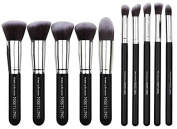 Nestling Makeup Brushes Premium Cosmetics Brush Set Synthetic Kabuki Makeup Brush, Foundation, Blending Blush, Eyeliner, Face Powder Brush Kit