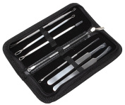 Iblue Blackhead Remover Tools 7 Pcs Professional Surgical Extractor Blemish Remover Kit #C5