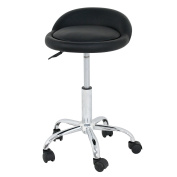 Zeny Hydraulic Massage Rolling Spa Salon Stool Swivel Chair 46cm - 60cm Adjustable Tattoo Stool