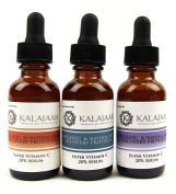 Hyaluronic Acid, Organic Vitamin C 20% Serum, Vitamin E, Freulic for Yourthful Looking Skin