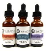 Hyaluronic Acid, Organic Vitamin C 20% Serum, Vitamin E, Freulic for Yourthful Looking Skin