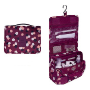Multifunctional Portable Hanging Toiletry Bag / Cosmetic Bag / Makeup Bag For Travel with Hanger/Hook, 1PC