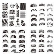 Shari New Nail art Tips Image Stamp Plates Polish Stamping Manicure Image DIY A21-24