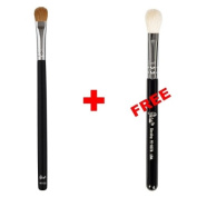 Bundle - Petal Beauty Large Shader makeup Brush + FREE $9 Value Eye Blending Brush