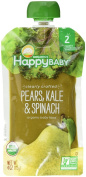 Happy Family Stage 2, Pears, Kale and Spinach, 120ml