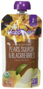 Happy Family Stage 2, Pears, Squash and Blackberries, 120ml