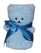 Baby Shower Gift Bear Blanket For Boys