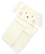 Ganz 90cm Polyester Bunny Hooded Baby Blanket