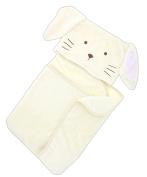 Ganz 90cm Polyester Bunny Hooded Baby Blanket