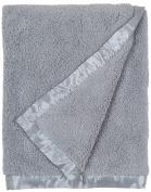 Little Unicorn Chenille Receiving Blanket - Grey