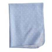 The Company Store Dottie Flannel Blanket French Blue