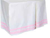 Barely Pink Just Born Cotton (CRIB SKIRT ONLY) Size Crib Baby Bedding Decor