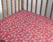 Farmall IH Tractor Logo Crib Sheet