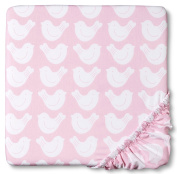 Bursts of Spring Woven Fitted Crib Sheet