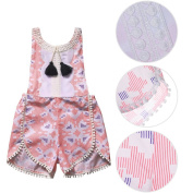 Samber Baby Clothes Floral Romper Baby Girls Clothes Toddler Jumpsuit One-Piece Suit