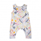 Samber Baby Girl Clothes Sleeveless Jumpsuit Climbing Clothes One-Pieces