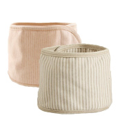 Fairy Baby Organic Cotton Baby Belly Button Band Umbilical Hernias Truss Pack of 2