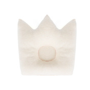 UINSTONE Newborn Baby Pillow in CROWN shape / 100% COTTON Head-shaping Pillow