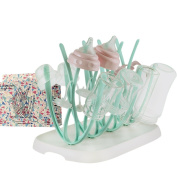 Bottle Drying Rack Anti-Bacterial Lightweight BPA-Free For Drying Baby Bottle and Feeding Accessories