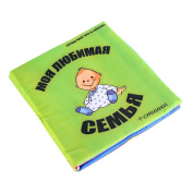 XILALU Baby toy, Lovely Soft Cloth book Baby Intelligence Development Learn Picture Cognize Book