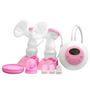 Hello Baby Dual-Core Bilateral Electric Breast Pump 9-Grade Adjustment Double Frequency Suction,Double Electric, BPA Free