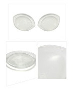 Silicone Bra Inserts Breast Enhancers Clear Breast Push Up And Firming Bust Enhancers Padding Breast Bra Pads Breast Chest Pads Enhancers